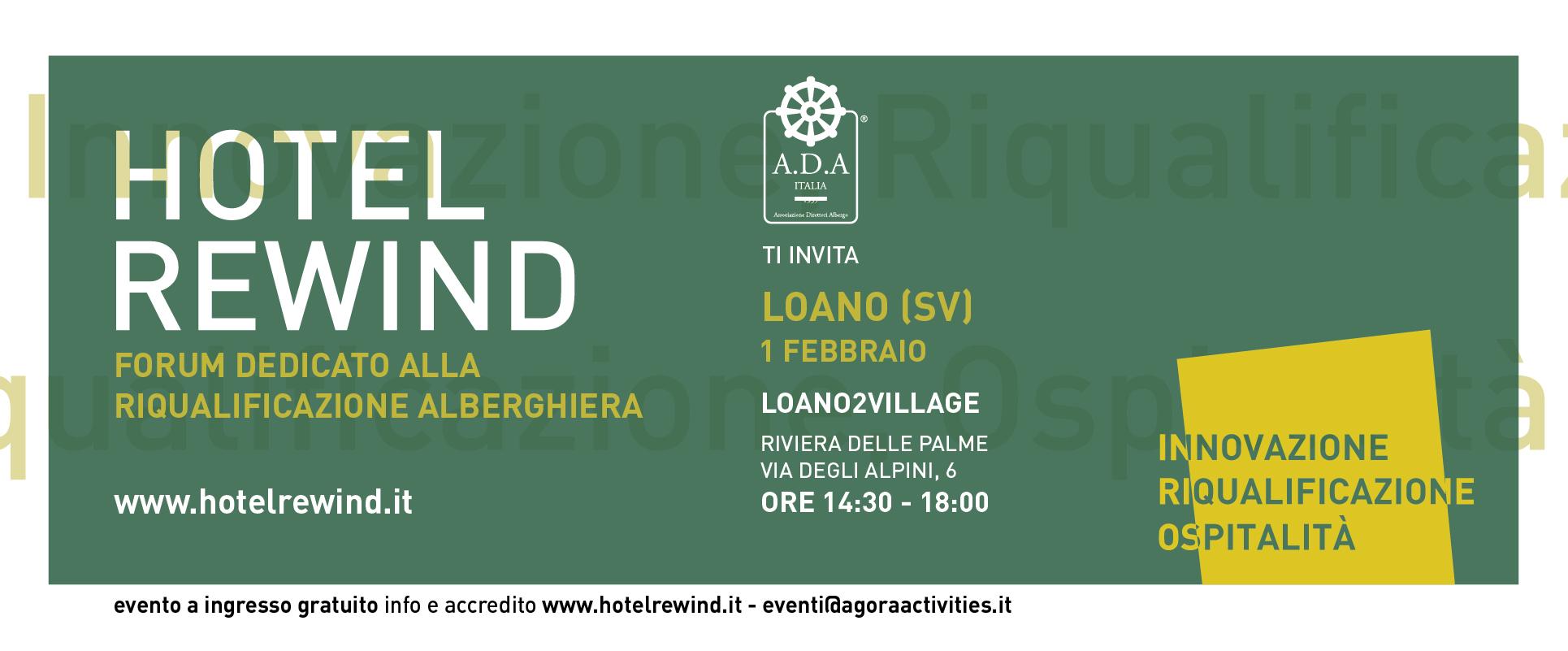 Invito Hotel Rewind