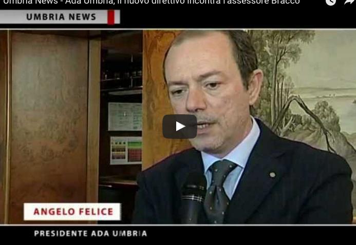 Umbria News – Ada Umbria, il nuovo direttivo incontra l'assessore Bracco