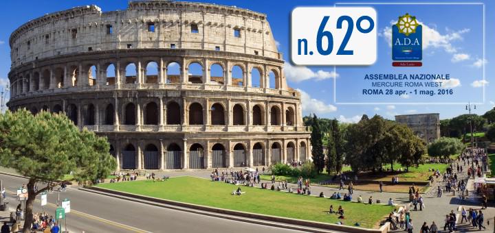 Assemblea Nazionale A.D.A 2016 – Roma – 28 Aprile / 1 Maggio