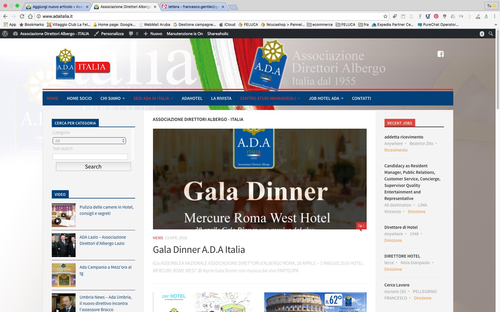Benvenuti nel nuovo Portale Ada Italia