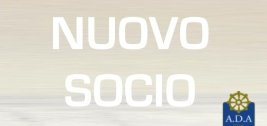 WELCOME NUOVO SOCIO GEN