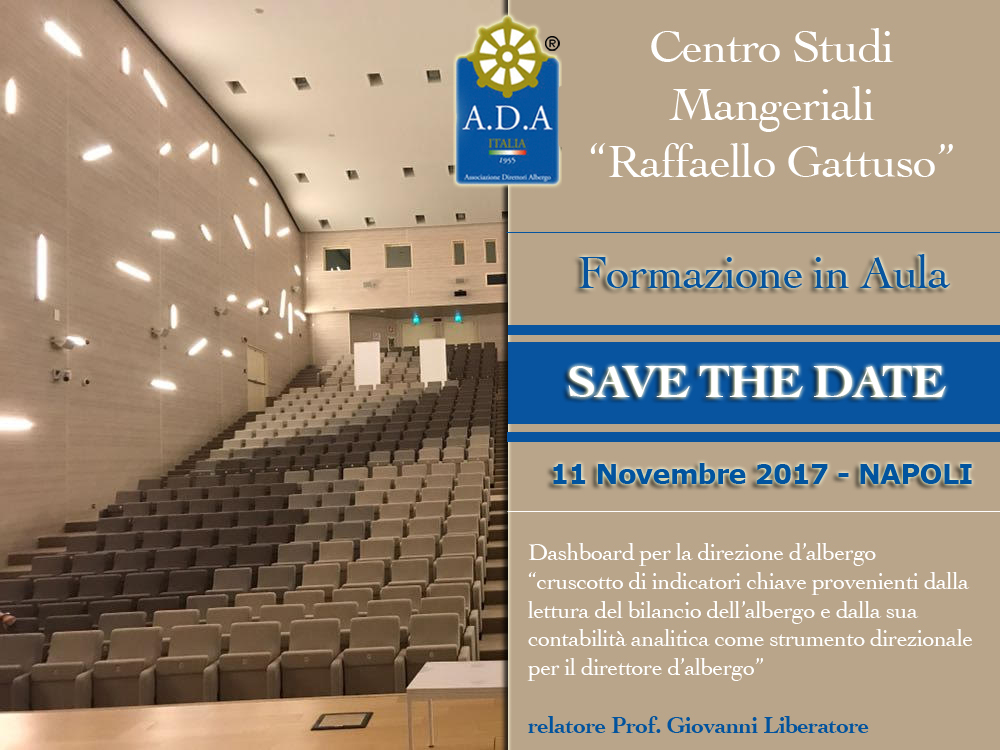 Save The Date – 11 Novembre Napoli