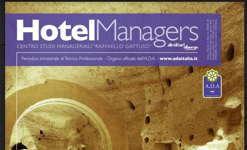 Hotel Managers Autunno 2018