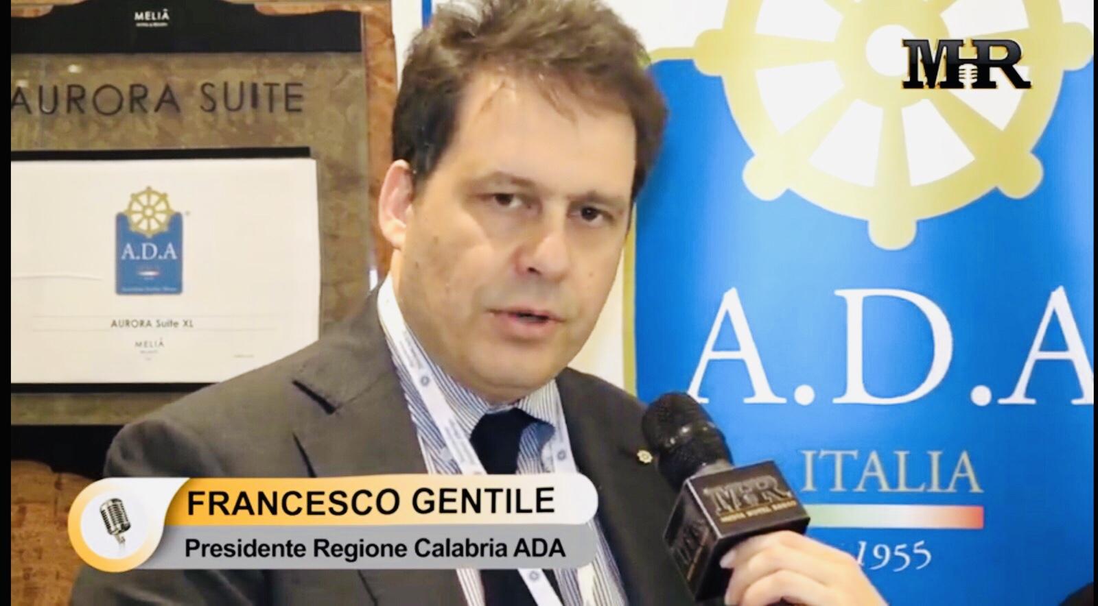 65 ^congresso A.D.A.: intervista al Presidente Regionale Ada Calabria Francesco Gentile