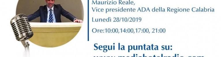 Media Hotel Radio – Intervista a Maurizio Reale – Vice Presidente Ada Calabria
