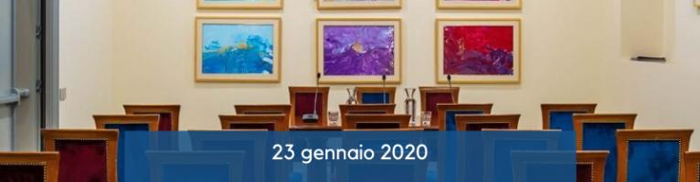 CSM Roma – Hotel Etico 23 gennaio 2020